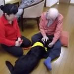 3月 セラピー犬「ゆば」に 癒され中!