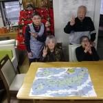 9.「4人で協力して日本地図完成させました!!」