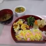 2.ひな祭りのチラシ寿司弁当