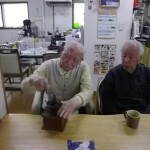 2.「挽きたての珈琲豆はいい香りだね」