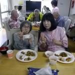 8.昼食タイム「赤飯、美味しい♡」