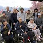 2018.4.30 軽川河川敷へお花見
