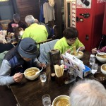 2018.10.23、24 朝里ダム紅葉見学後の外食