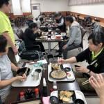 2018.10.9 手稲区「ばか値食堂」にて外食